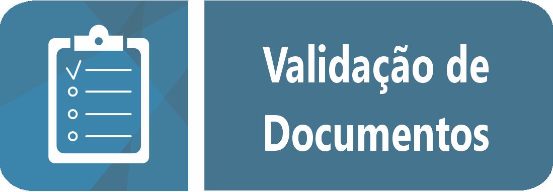 Validação de documentos.
